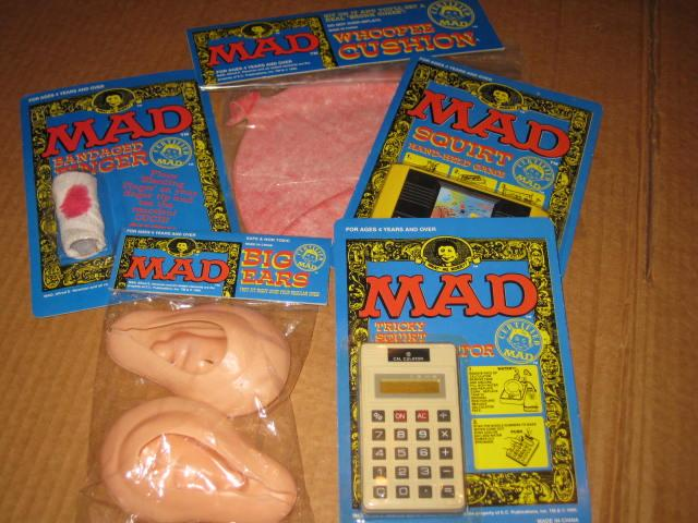 Complete Set Of Five MAD Magazine Toys • Australia