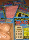 Complete Set Of Five MAD Magazine Toys (Australia) Manufactor: Horwitz Grahame Pty. LTD Publication Date: 1995