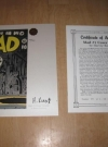 MAD Comic Book #1 Cover Concept Print (USA) Manufactor: Another Rainbow Publication Date: 1991