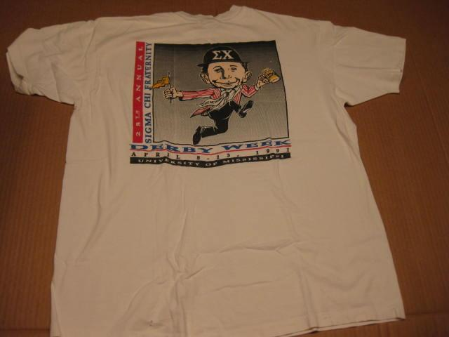 """T-Shirt Sigma Chi Fraternity """"Derby Week"""" • USA"""