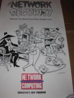 Go to Promotional Poster Spy vs. Spy / Network Computing • USA