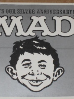 Go to Sticker Alfred E. Neuman - 25th Anniversary • USA