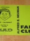Image of Alfred E. Neuman Fan Club Membership Card - Outside