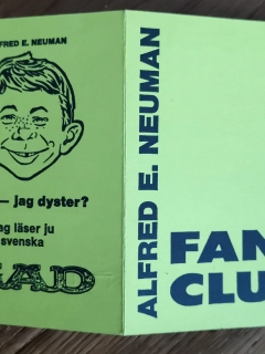 Go to Membership Card Alfred E. Neuman Fan Club • Sweden
