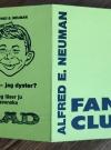Membership Card Alfred E. Neuman Fan Club