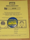 Image of Membership Card w/ Pin Alfred E. Neuman Fan Supporter Club