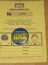 Membership Card w/ Pin Alfred E. Neuman Fan Supporter Club