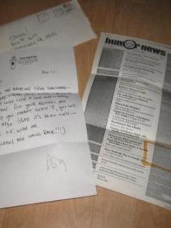 Go to Don Martin Signed Letter w/ Envelope • USA