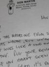 Image of Don Martin Signed Letter w/ Envelope