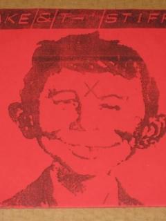 Go to Record 45RPM Jake & the Stiffs (red version) • USA