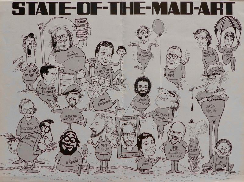 """State of the MAD Art"" Poster • USA"