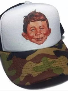 Camouflage Cap Alfred E. Neuman • Argentina