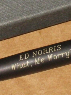 Go to Personalized Pen with Original Box - Ed Norris • USA