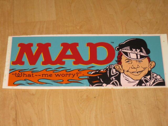 MAD Magazine Coffee Mug Decal • Australia