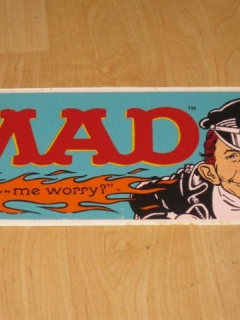 Go to MAD Magazine Coffee Mug Decal • Australia