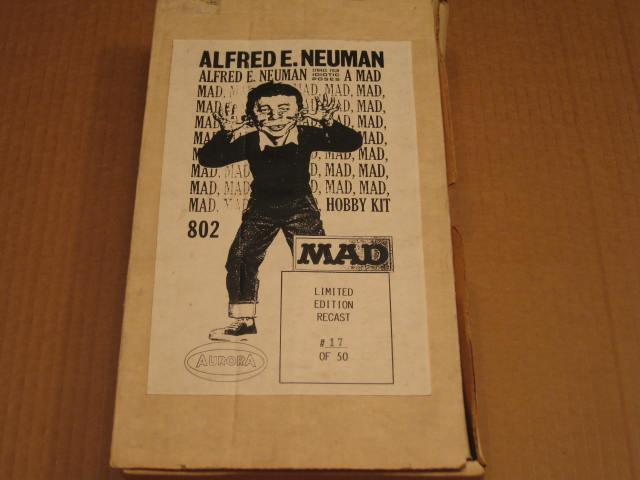 Aurora / Alfred E. Neuman Model Kit Limited Edition Recast • USA