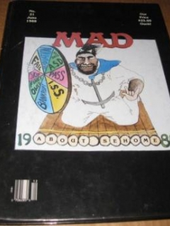 Go to Sehome High School Annual Yearbook w/ MAD Magazine Theme