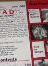 Image of Sehome High School Annual Yearbook w/ MAD Magazine Theme