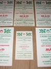 Christmas Gift Subscription Cards MAD Magazine (USA) Manufactor: E.C. Publications