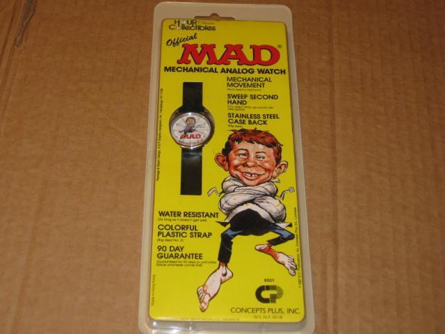 Wristwatch - Concepts Plus MAD Magazine • USA