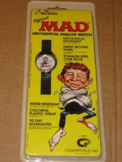 Go to Wristwatch - Concepts Plus MAD Magazine • USA