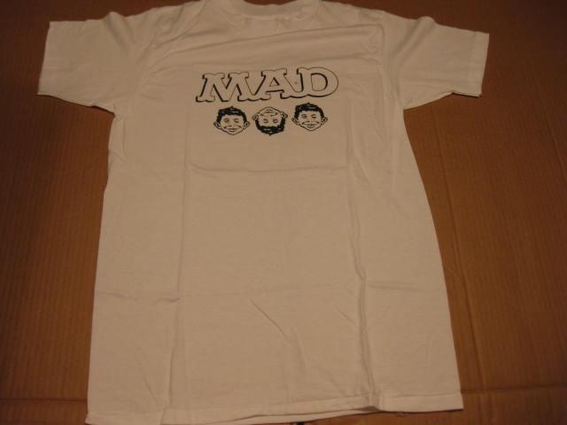 T-Shirt MAD Magazine Office Premium - Three Faces Of MAD • USA