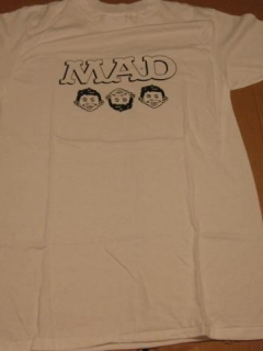 Go to MAD Magazine Office Premium T-Shirt - Three Faces Of MAD