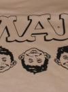 Image of MAD Magazine Office Premium T-Shirt - Three Faces Of MAD