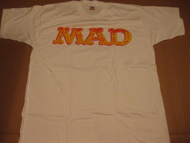 T-Shirt MAD Logo 1992 Stanley DeSantis • USA