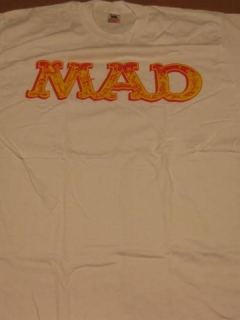 Go to T-Shirt MAD Logo 1992 Stanley DeSantis • USA