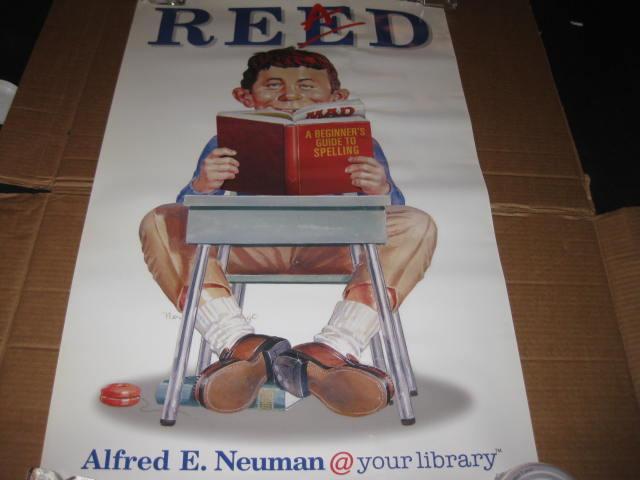Poster Alfred E. Neuman - American Library Association • USA