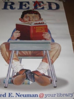 Go to Poster Alfred E. Neuman - American Library Association • USA