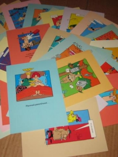 Go to Set Of 34 Don Martin Greeting Cards Banana Peals