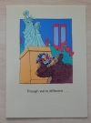 Image of Don Martin Greeting Card - Though wer're different - Front