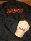 Artist / Bob Clarke MAD Jacket & MAD Baseball Cap (USA)