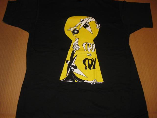 T-Shirt Spy vs. Spy Stanley DeSantis • USA
