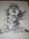 Original Art - Bruce Springsteen by Gerry Gersten (USA) Publication Date: 7th September 1995