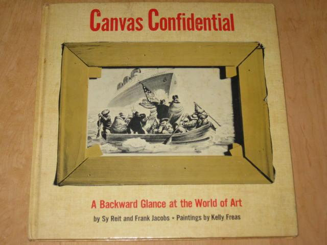 Canvas Confidential Hardcover Book • USA