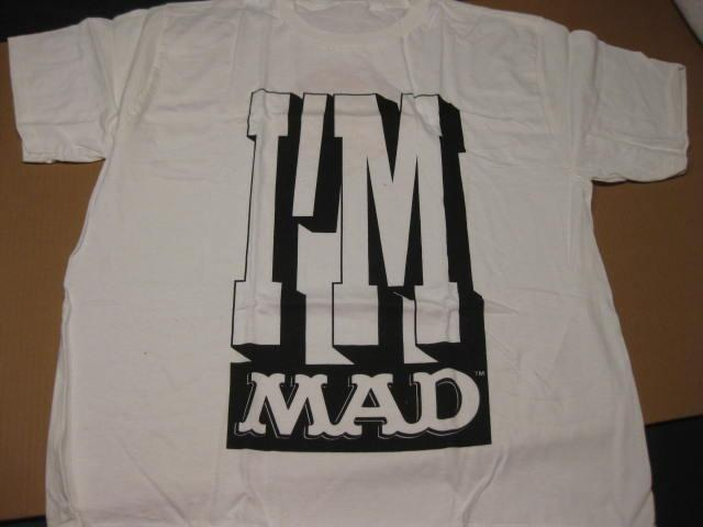 "Alfred E. Neuman T-Shirt UBI ""I'm MAD"" • USA"