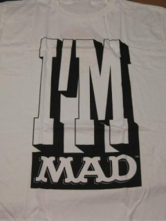 "Go to Alfred E. Neuman T-Shirt UBI ""I'm MAD"" • USA"