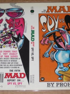 Go to Spy vs. Spy Paperback Book Cover Proof  • USA