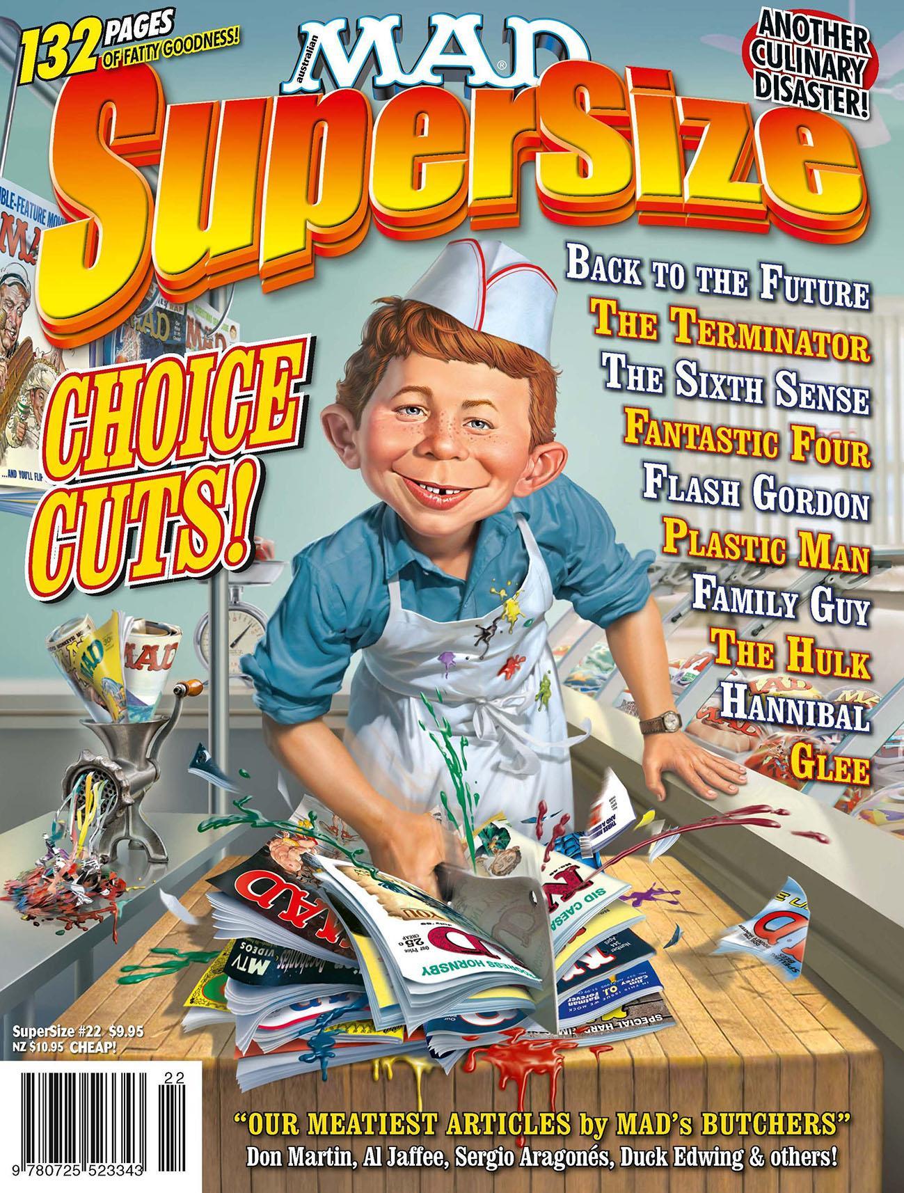 MAD SuperSize #22 • Australia
