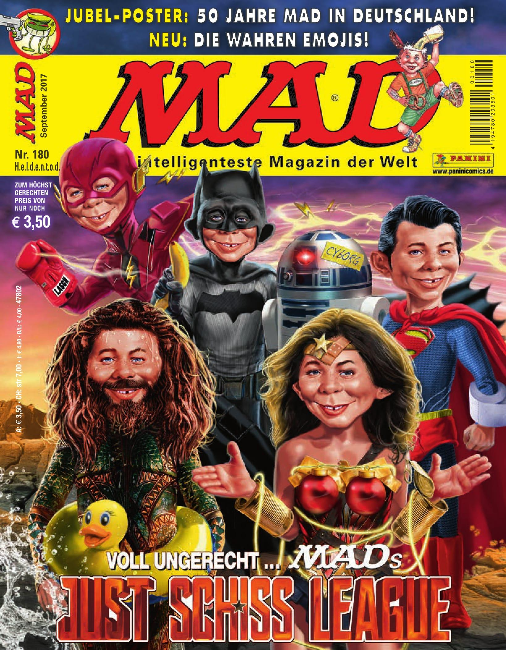 MAD Magazine • Germany • 2nd Edition - Dino/Panini