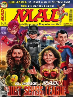 Go to MAD Magazine #180 • Germany • 2nd Edition - Dino/Panini