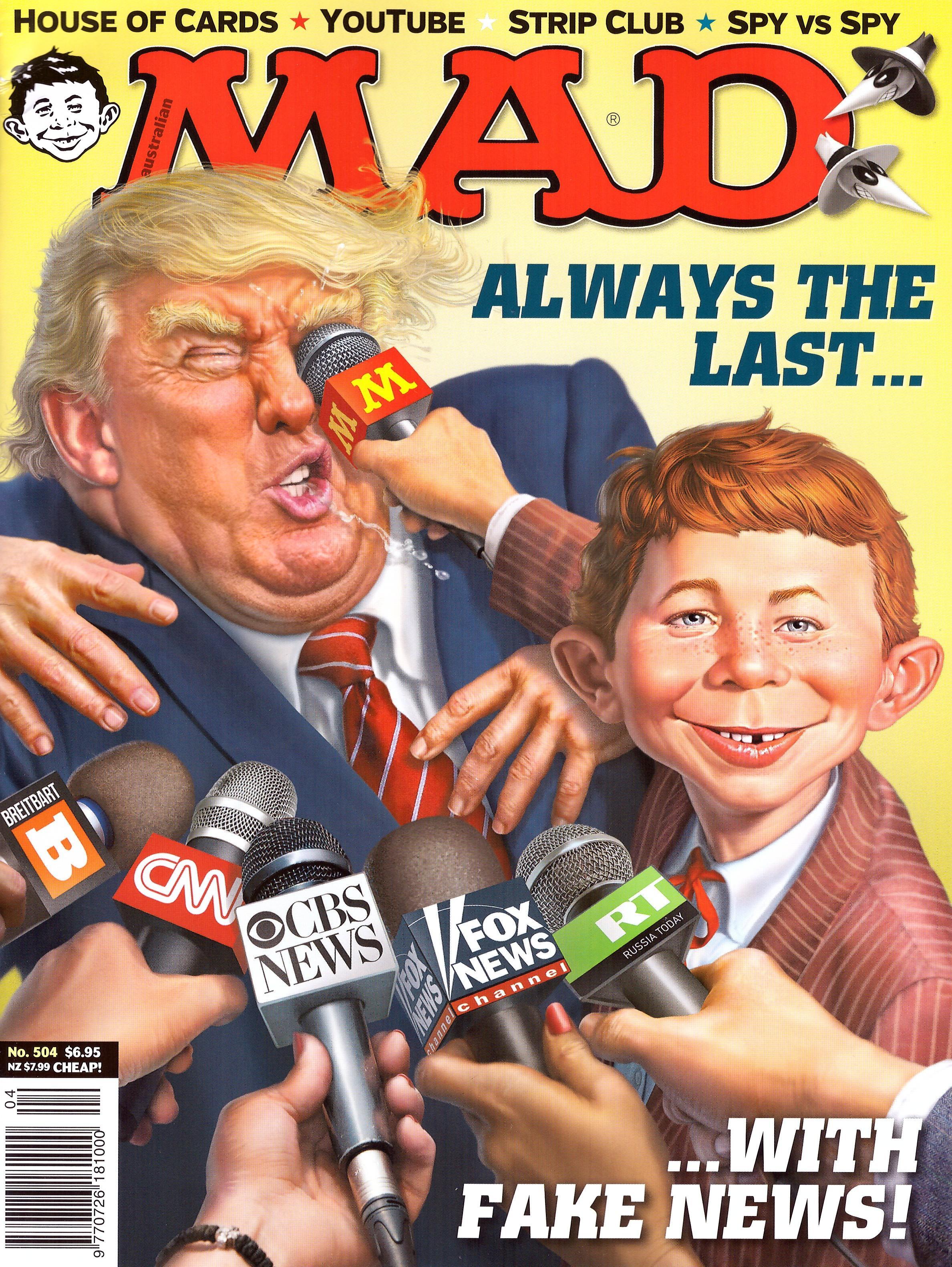 MAD Magazine #504 • Australia