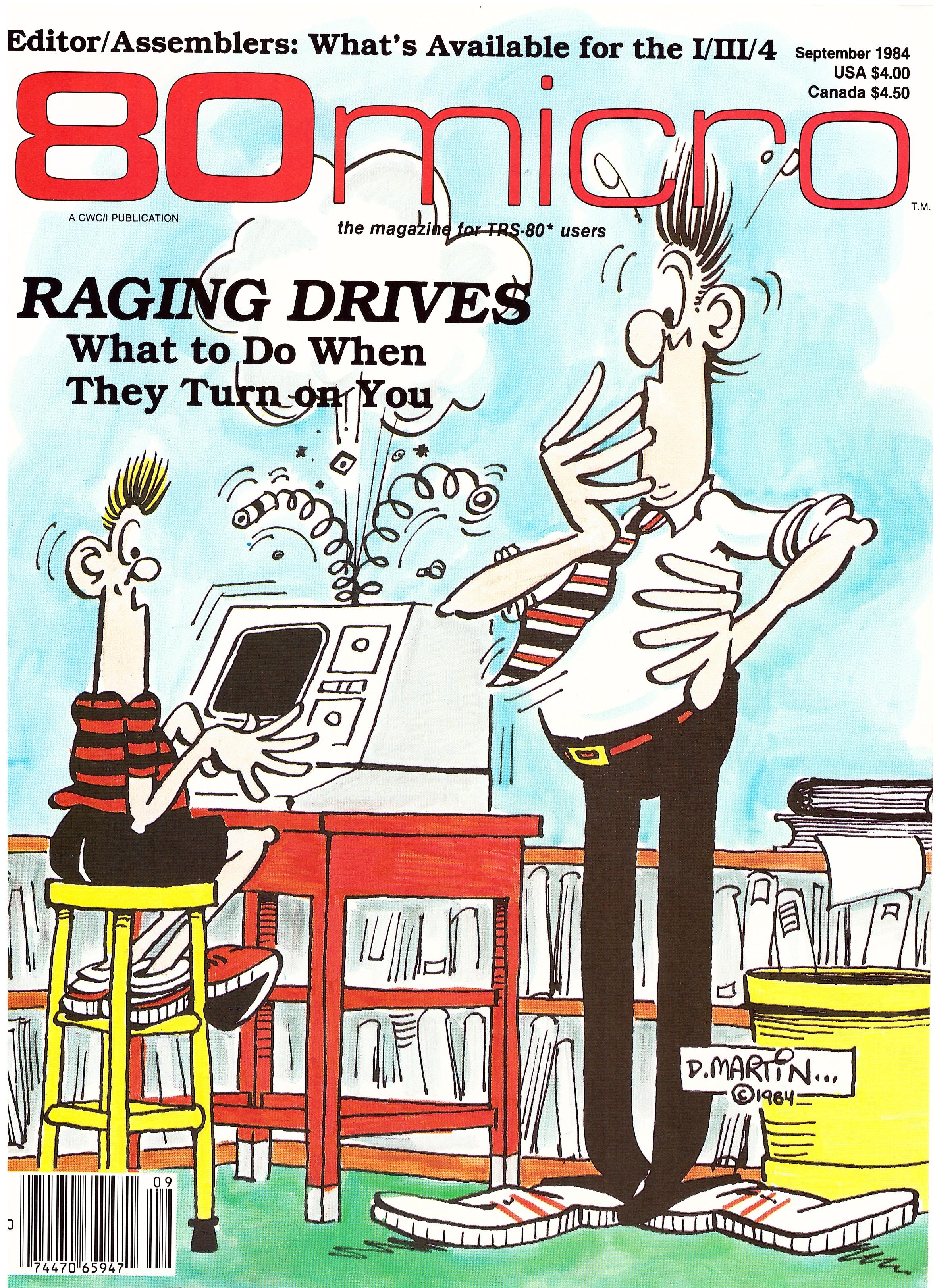 80 micro Magazine with Don Martin Artwork • USA