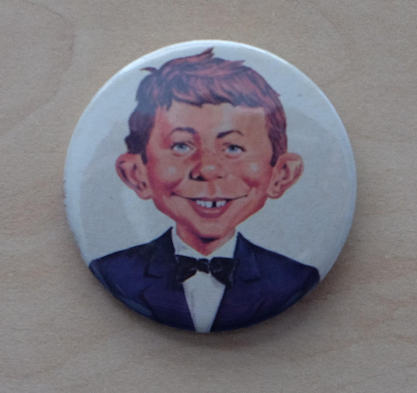 Pin Alfred E. Neuman Face from the UGOI MAD Visit 1980 • Germany