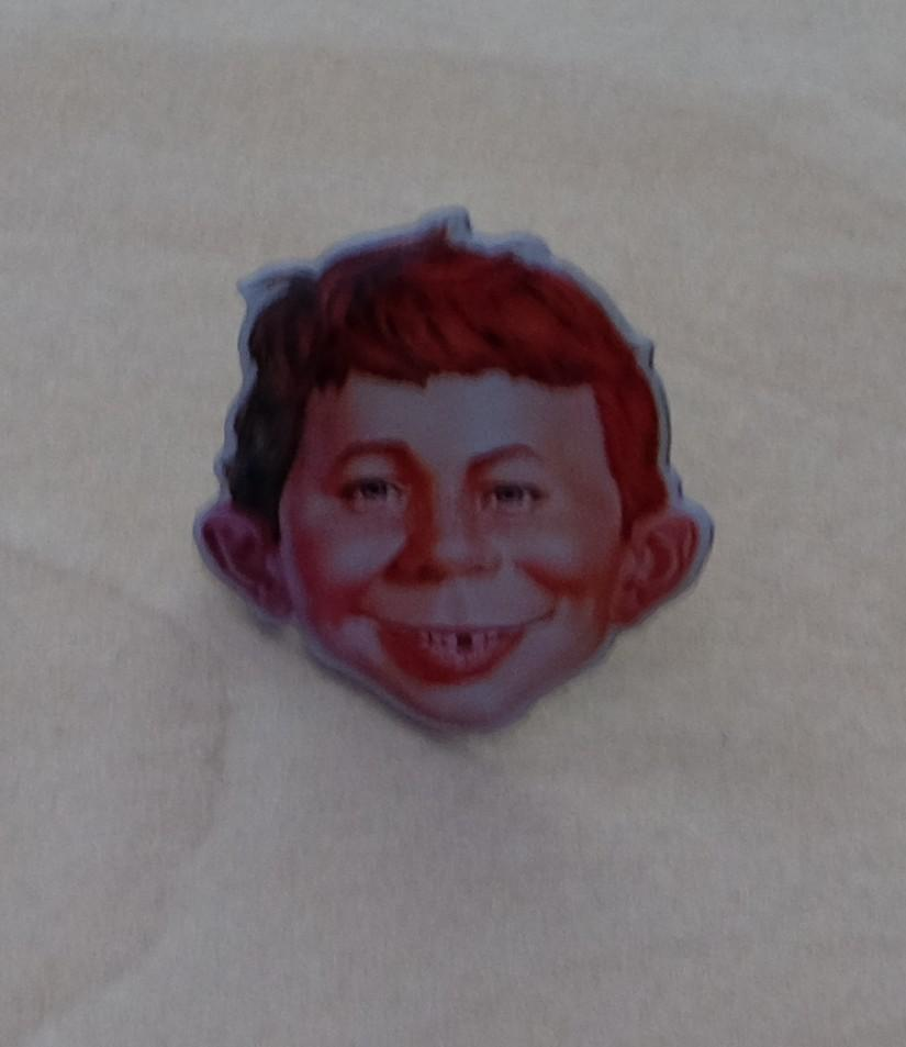 Pin Alfred E. Neuman Face (Fan Made) • Germany