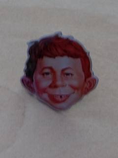 Pin Alfred E. Neuman Face (Fan Made)