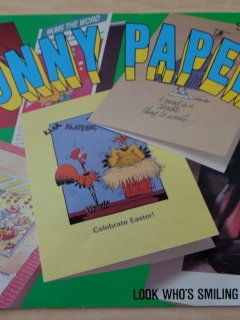 Funny Papers - Postcard Catalog with Don Martin cards